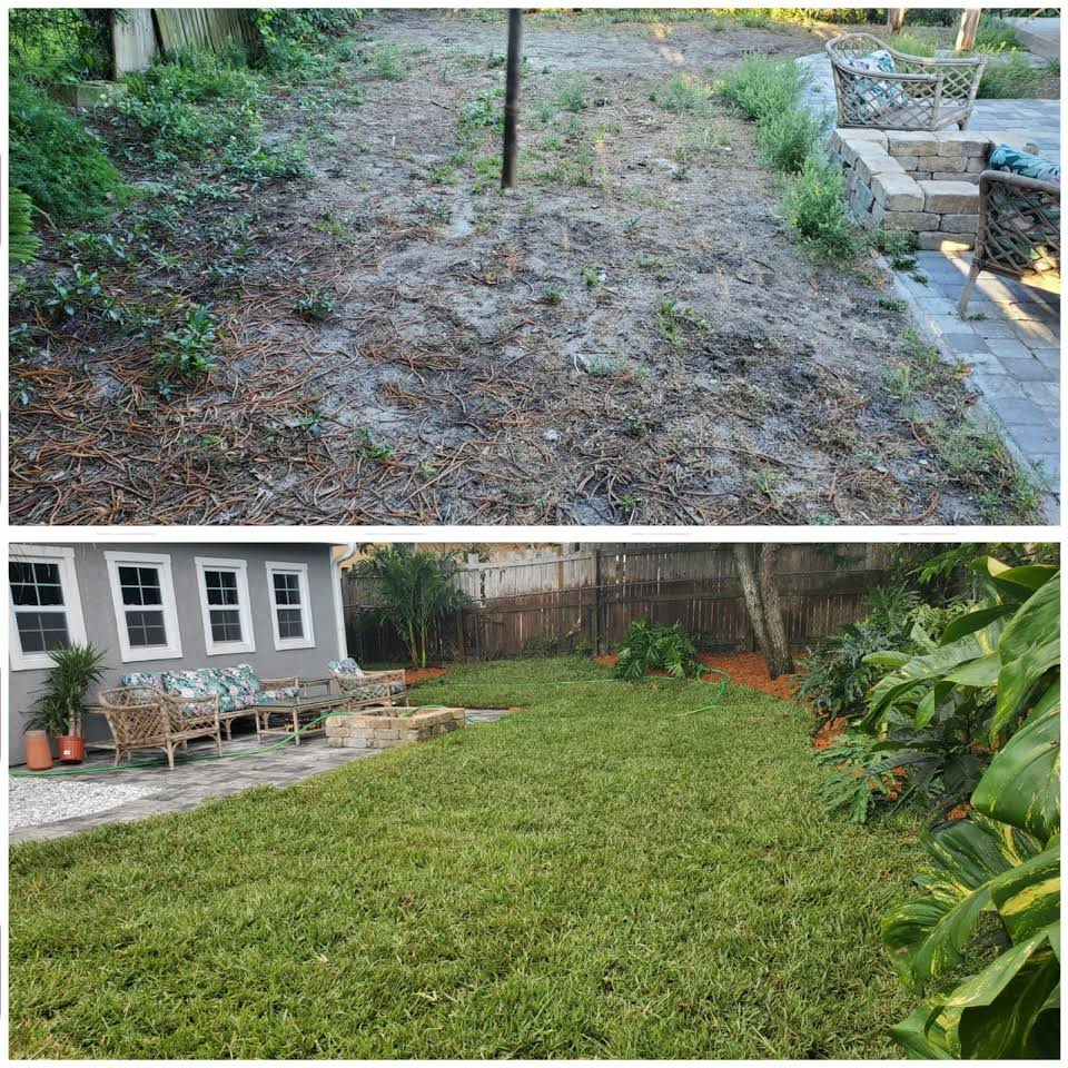 sod installation services hill assistance landscaping llc